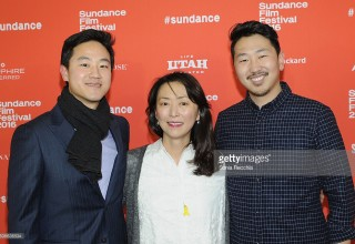 "attends the ""Spa Night"" Premiere during the 2016 Sundance Film Festival at Library Center Theater on January 24, 2016 in Park City, Utah."