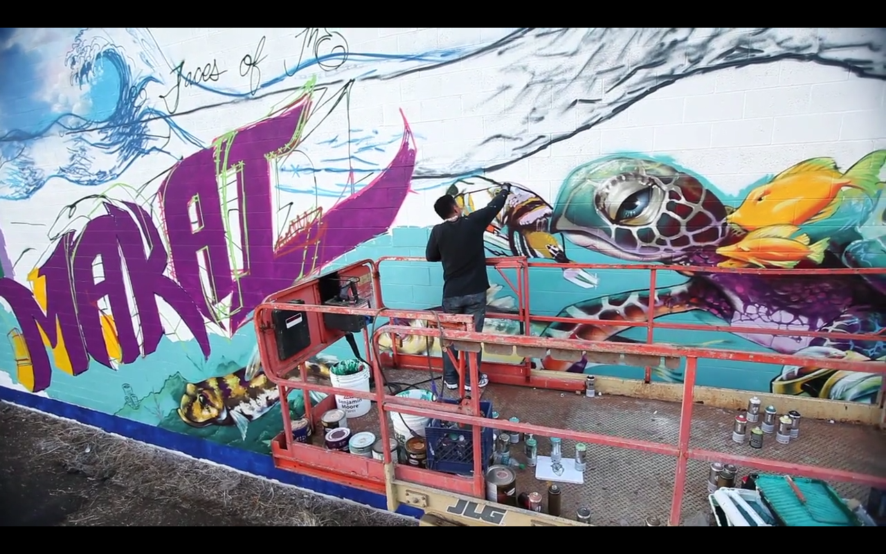 Interview with director tadashi nakamura of mele murals for Mural vision tv