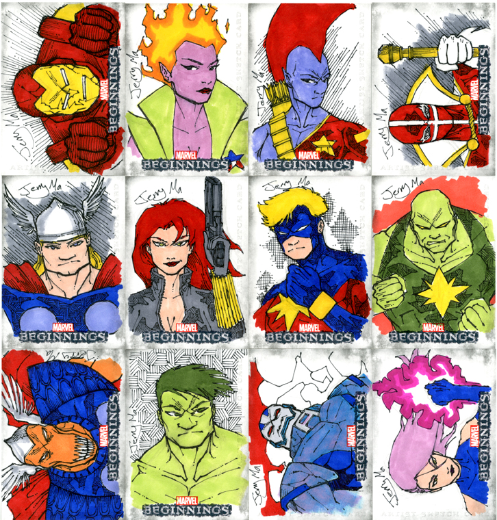 how to draw avengers characters