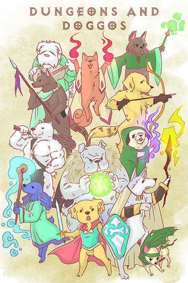 Dungeons and Doggos