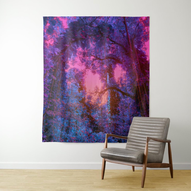 "(Available 10/1) Tapestry: ""Fantasy Canopy"""