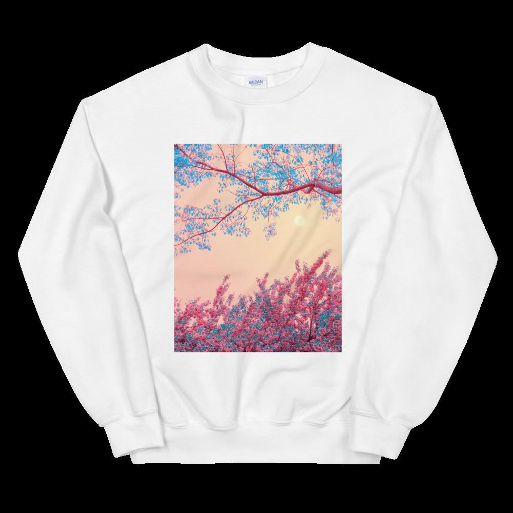 "(Available 10/3) Unisex Sweatshirt: ""Full Flower Moon"""